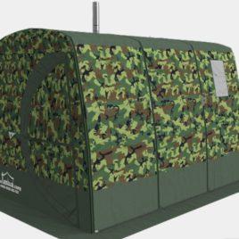 rennosti-3, teltta ja kiuas