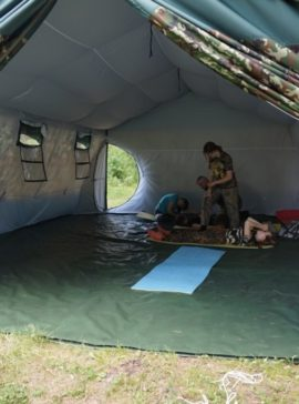 Isot teltat